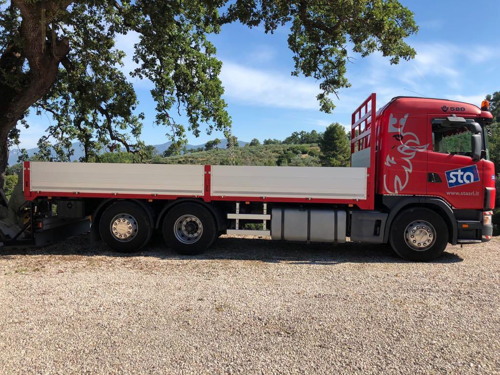 camion usato scania cv r 164 lb 6x2 4 na 580